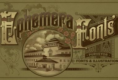Ephemera Sickles [3 Fonts] | The Fonts Master
