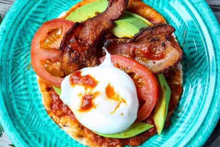 Bacon & Egg Breakfast Tacos