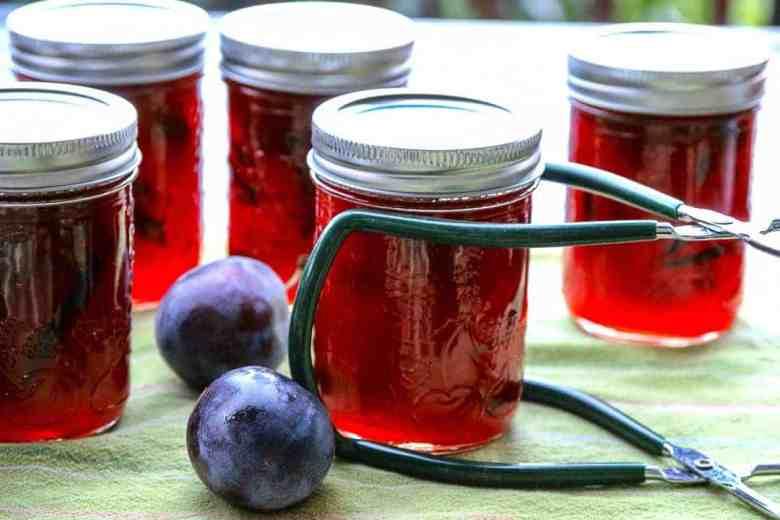 Spiced Plum Jam with Cardamom & Cinnamon