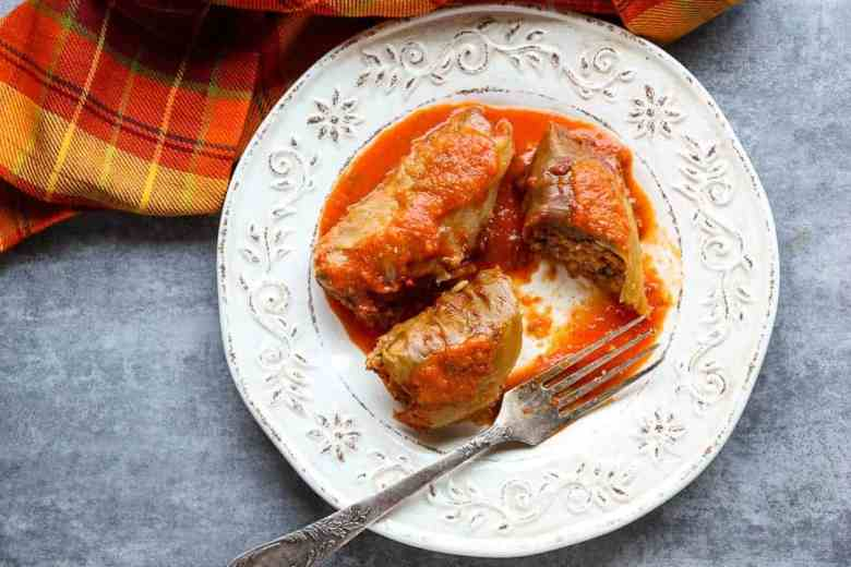 Slow Cooker Cabbage Rolls