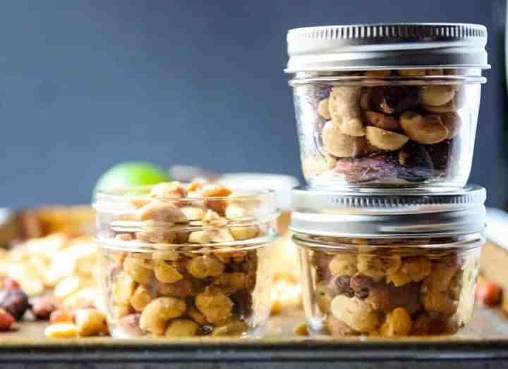 Chili Lime Spiced Nuts