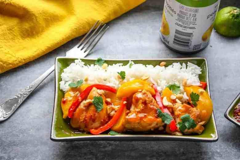 Thai Peach Chicken