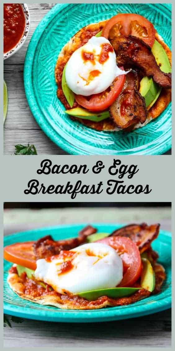 Bacon Egg Breakfast Tacos