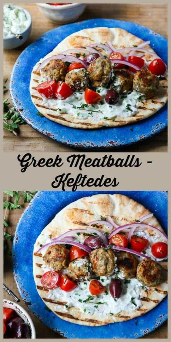 Greek Meatballs (Keftedes)