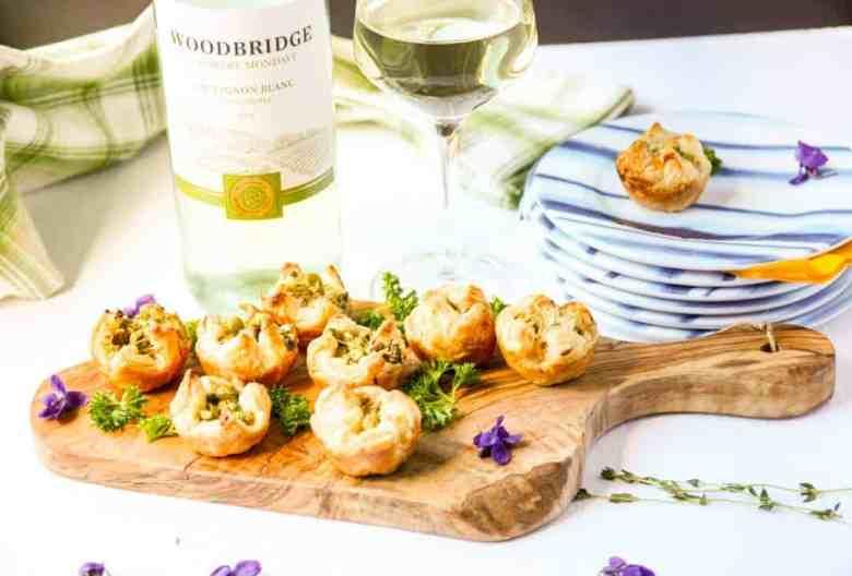 Asparagus Puffs & Sauvignon Blanc