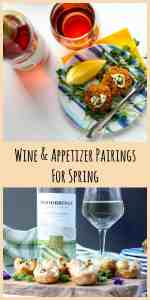 Spring Wine & Appetizer Pairings