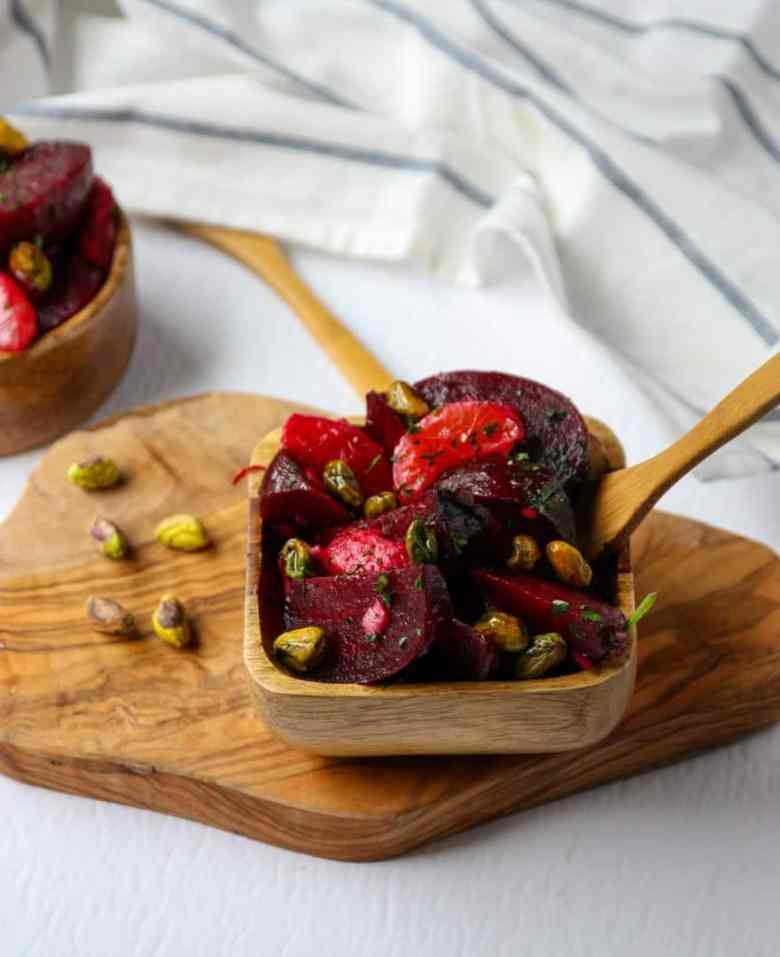 Beet Pistachio & Orange Salad
