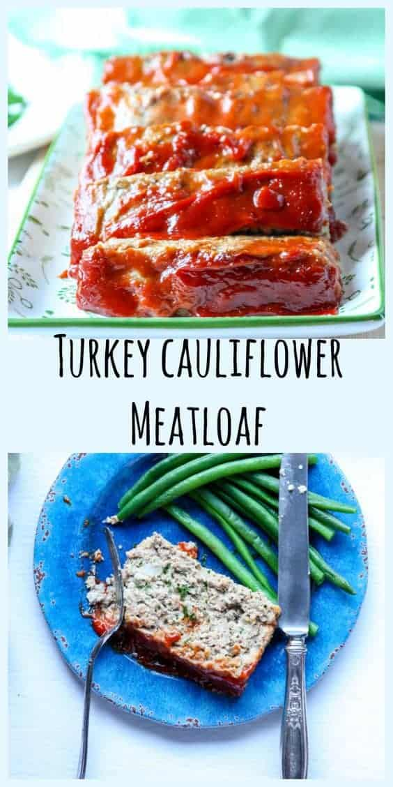 Turkey Cauliflower Meatloaf