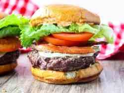 Grilled Chipotle BLT Burgers