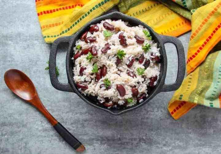 Jamaican Rice & Beans