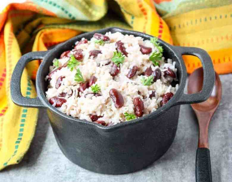 Coconut Red Beans & Rice