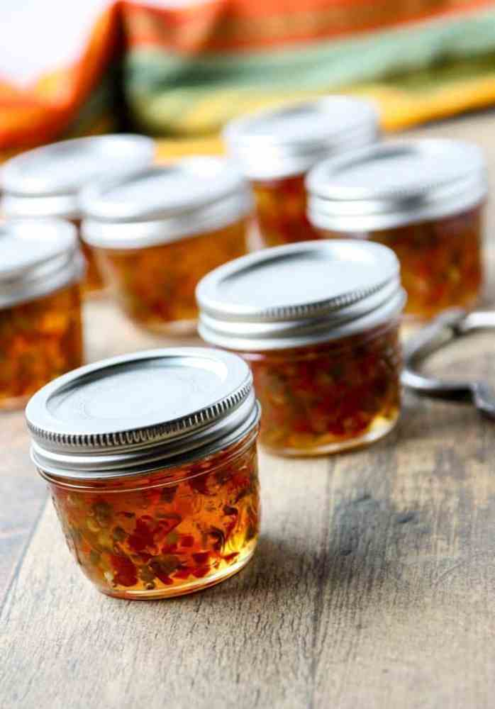 Jars of Pepper Jelly