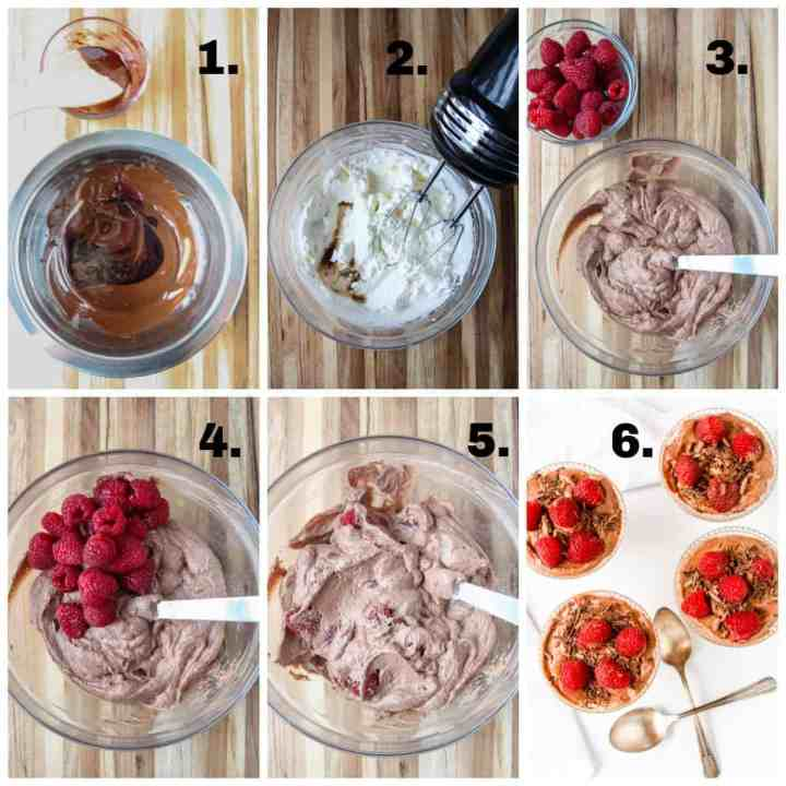 Step by Step photos of the recipe process.