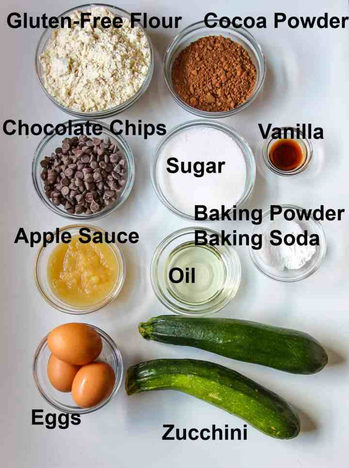 The ingredients to make the recipe.