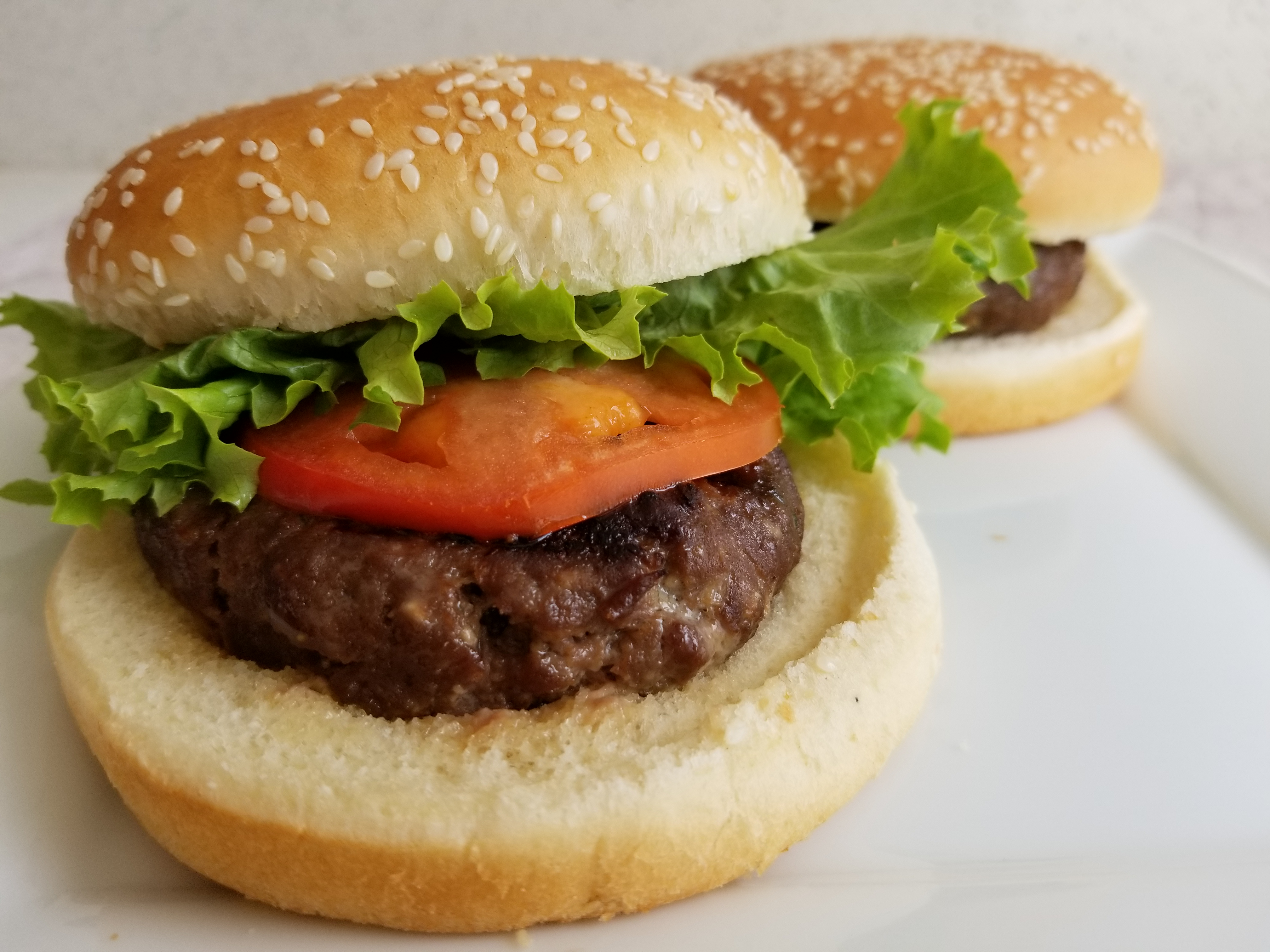how to cook burgers on george foreman
