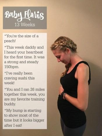 Baby Floris - Week 13