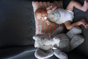 Lavinia Grace: 1 Month Update