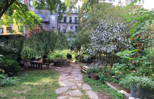 New York City Urban Garden