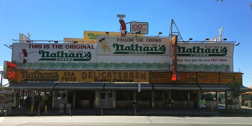 nathans coney island new york city