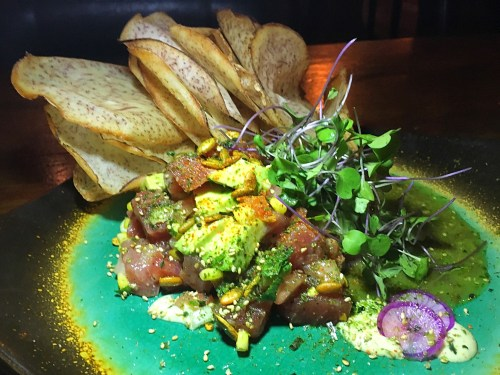 local tap house local tuna ceviche