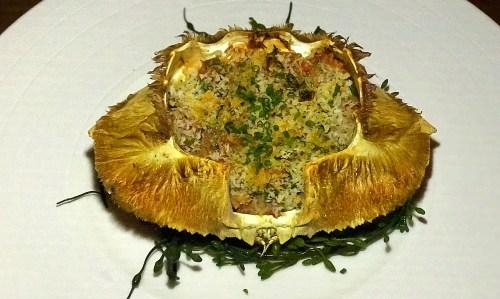 ponsatys french dinner series crabe txangurro