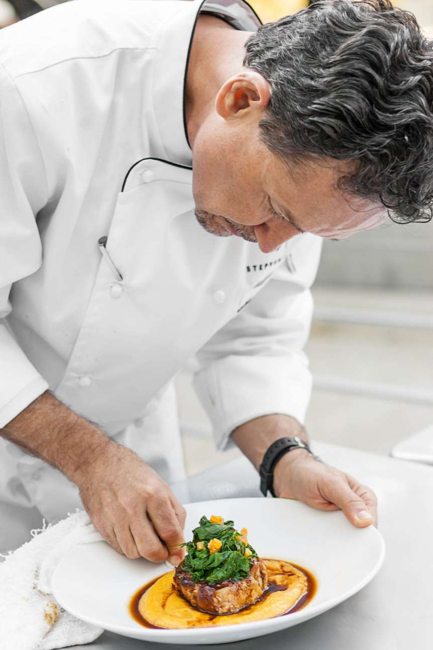 Stephen Pyles, commercial food, food photography, advertising, restaurant, editorial, cookbooks, cook books, table top, food styling, prop styling, lifestyle, interior photography, chef portraits, celebrity chef portraits, portrait photography