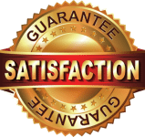 Satisfaction Guarantee logo - Treatments Menu