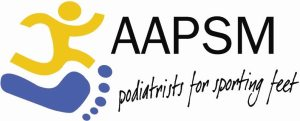AAPSM logo 300x121 - Sports Podiatry