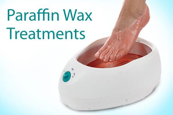 paraffin wax foot bath treatment 1