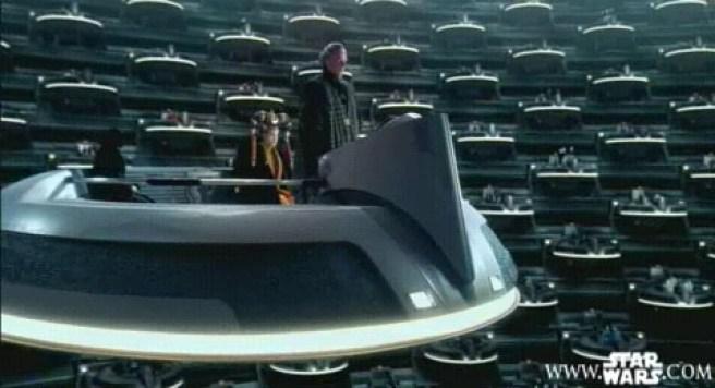 Consejo del Imperio en Star Wars