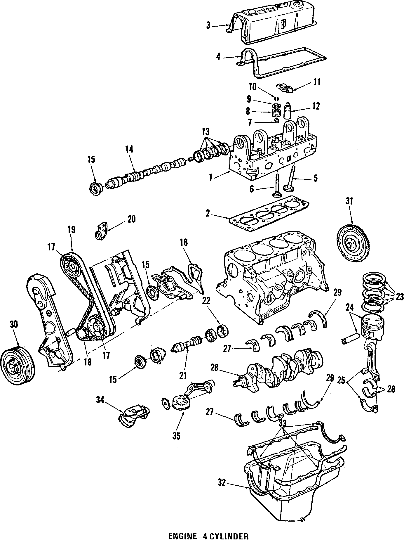 Mercury Capri Valve
