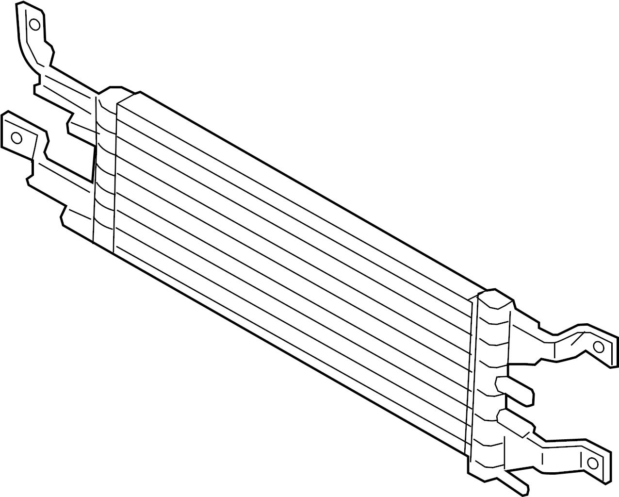 Lincoln Mkz Cooler Oil Transmission 2 0 Liter Dohc 3 7