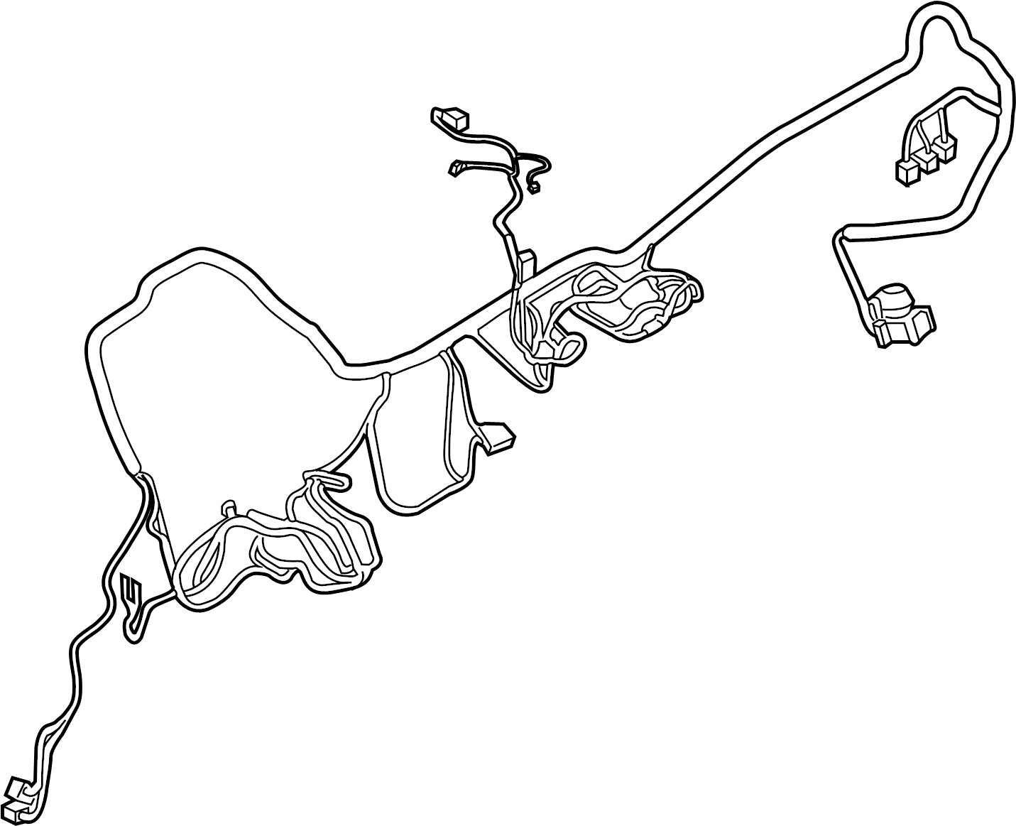 Ford F 150 Wire Harness Wiring Assembly