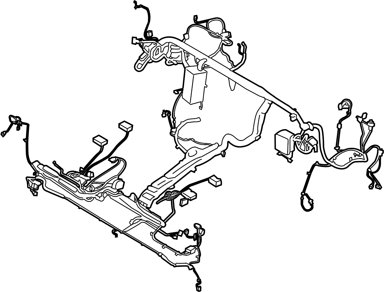 Ford Transit 350 Hd Wire Harness Wiring Assembly