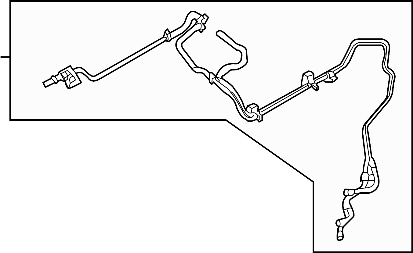 Ford Fusion Vacuum Line Liter Tube Harness