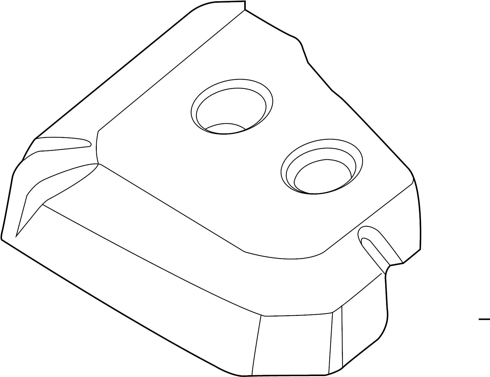 Ford Escape Engine Cover 2 0 Liter Transaxle