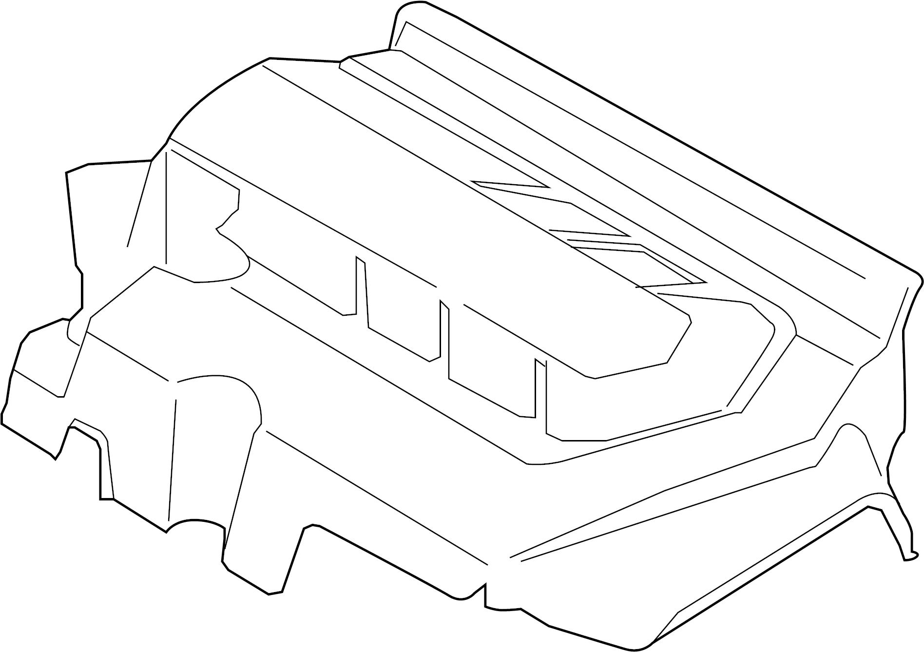 Ford Edge Engine Cover 2 7 Liter