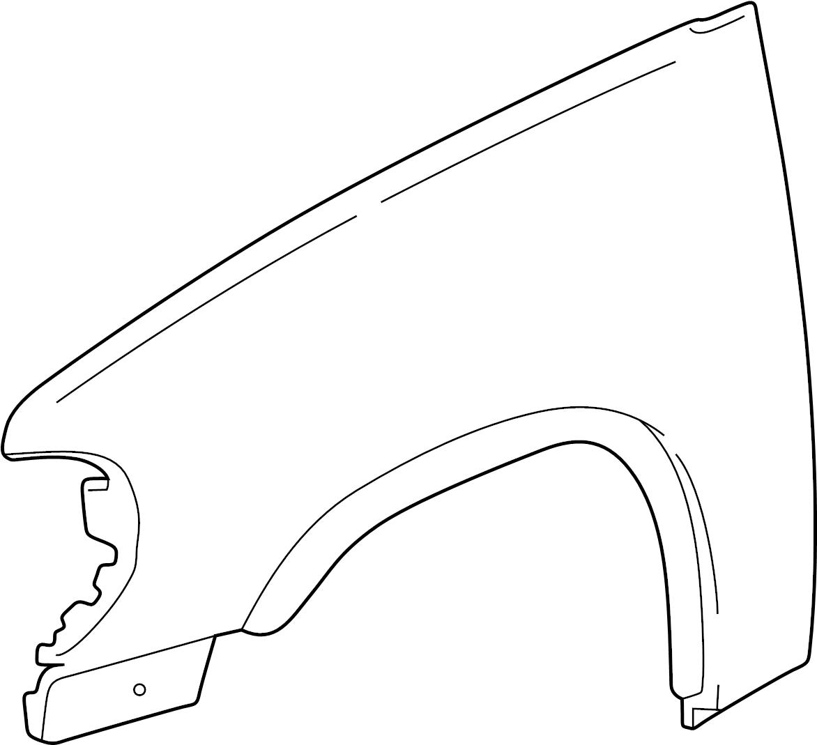 Lincoln Mark Lt Wheel Arch Molding King Ranch Lariat