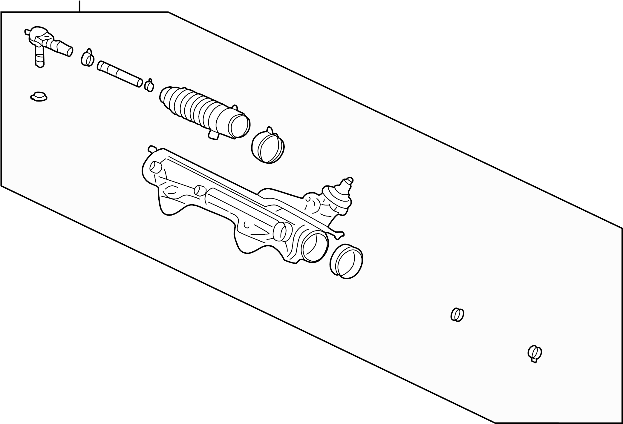 Mercury Mountaineer Rack And Pinion Assembly Steering