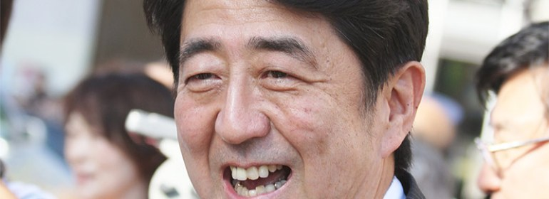 Shinzo Abe in the run up to the 2012 election [TTTNIS]
