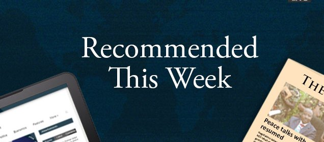 Every week, The Foreign Report recommends articles from around the web for you to read.
