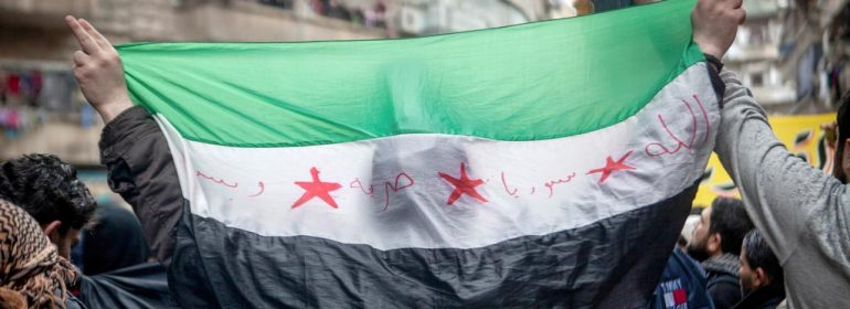 Demonstration against Assad regime are a regular occurence in Aleppo, Syria [Freedom House]