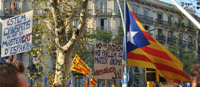 Independence marches in Catalonia, 2012