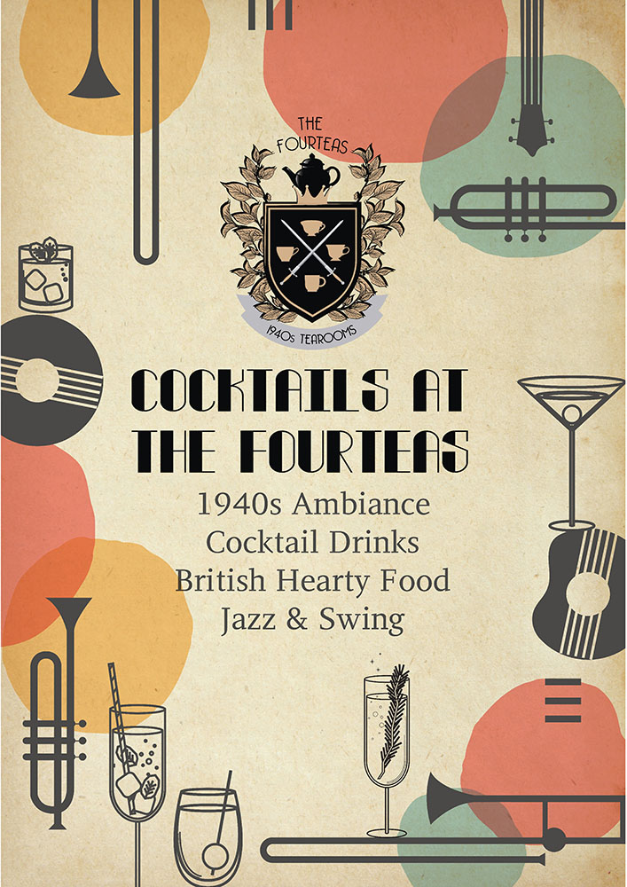 Cocktail- Jazzy nights at The Fourteas!