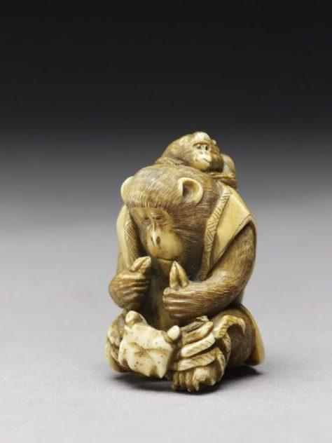 crab monkey Ashmolean Museum