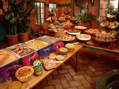 The Fox Burwell - Mexican Buffet