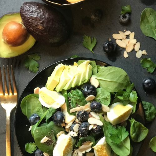 Antioxidant, Salad, Healthy, Chef Nikki Martin, TheFoxDiaries, Healthy Fox