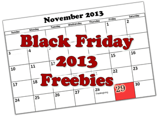 FREE Stuff On Black Friday 2013
