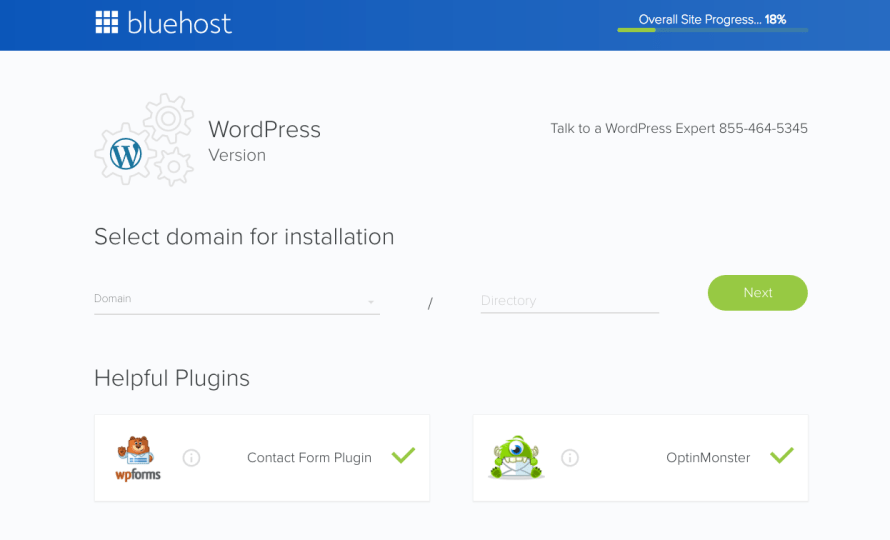 how to install and use WordPress for Bluehost Tutorial