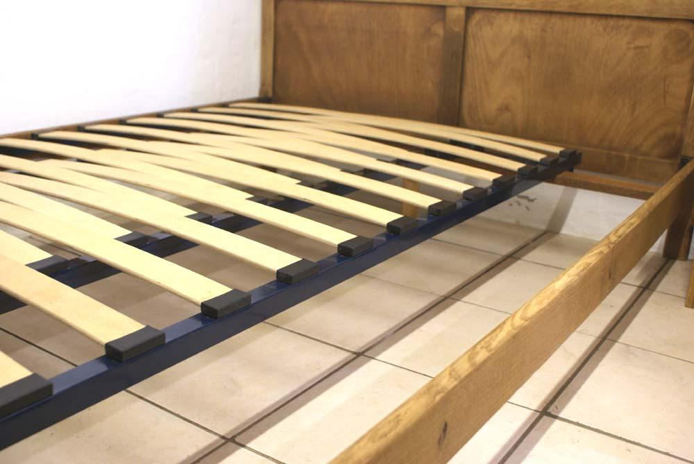 adjustable slatted bed base 4 antique amp modern on Double Bed Slats id=39897
